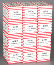 NEW Gepe Glassless Slide Mounts 20 Pcs box w/Metal Mask 6x6 - 10 Boxes Available