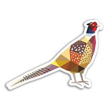 2 x 10cm Pheasant Bird Vinyl Stickers - Shooting Game Cool Sticker Laptop #18444