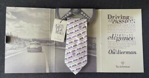 Isotta Fraschini 2017 Pebble Beach Concours Outlierman Tie Necktie EXC
