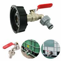 Kugelauslaufhahn -Schlauchanschluss & Adapter für IBC-Regenwassertanks Zapfhahn