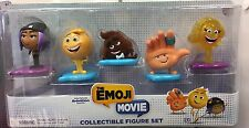 The Emoji Movie Collectible Figure Set New Sealed