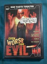 Bad Taste Theater Even Worse Than Evil 4 DVD Set Insaniac Phobias The Seekers
