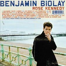 CD audio.../...BENJAMIN BIOLAY.../...ROSE KENNEDY.......