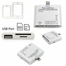 NEW USB CARD 5-IN-1  CAMERA CONNECTION KIT READER ADAPTOR FOR IPAD AIR MINI