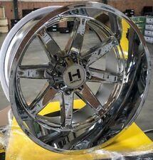 IN STOCK! 4 New 22x14 H109 Hostile Alpha Chrome 8x170 Ford F250 F350 -76