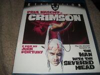 Crimson (1985) Paul Naschy Redemption BRAND NEW Blu-ray
