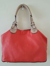Oasis Shirley Shopper Bag Coral 3 in 1
