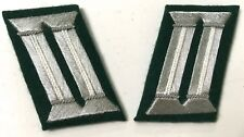 WWII GERMAN HEER OFFICER TUNIC JACKET COLLAR TABS-INFANTRY