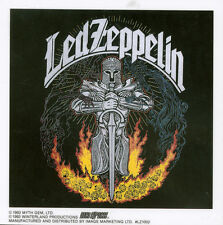 LED ZEPPELIN - KNIGHT - STICKER/DECAL - BRAND NEW VINTAGE - MUSIC BAND 058