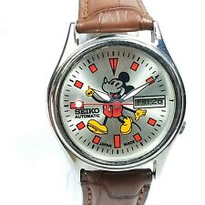 Vintage Seiko Automatic Movement Day Date Dial Mens Analog  Wrist Watch AC528