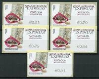 Portugal Stamps 2020 MNH Foundling Tokens Misericordia de Lisboa Maria 5v SA ATM