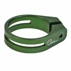 OMNI Racer WORLDS LIGHTEST Alloy Seatpost Clamp: JUST 10.8 grams!!! 31.8-32mm
