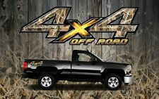 2 4x4 Off Road Truck Camouflage Duck Camo Truck Bed Decals Stickers-ORTD