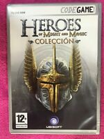 HEROES OF MIGHT AND MAGIC COLECCION PC DVD JUEGO CODEGAME UBISOFT AM
