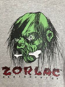 Zorlac Pushead Skateboard Shirt Size XL Powell Peralta Santa Cruz metallica sims