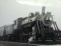 RARE 1920s-30s Boston & Maine Railroad 2-6-0 Locomotive Steam Engine Train Photo