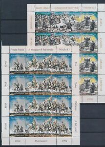 XC57896 Hungary old battlefield warriors sheets MNH