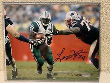 Leon Washington Signed New York Jets 8x10 Photo Steiner