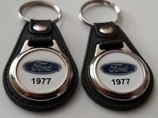 1977 FORD KEYCHAIN 2 PACK CLASSIC TRUCK AND CAR  LOGO