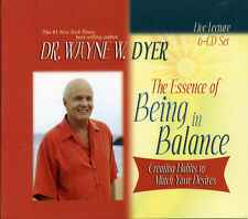 THE Essence of BEING IN BALANCE Dr Wayne W Dyer    6 CD