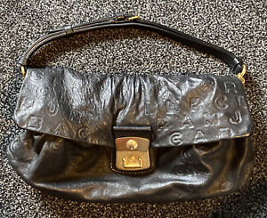 Marc Jacobs Dreamy Black Leather Handbag - Lamb Leather Really Soft