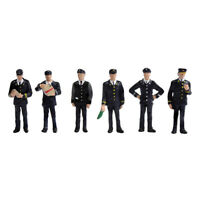 Bachmann Scenecraft 36-405 1960s/70s Station Staff OO Scale 1:76 Painted  RTP