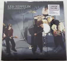 "Led Zeppelin ‎– ""Live Scandinavia '69"" 1 LP Ltd. Ed. White Vinyl"
