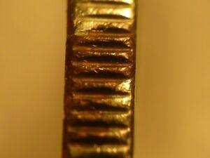ERROR - Canada 1983 BU nickel dollar, struck through bronze fragment, retained