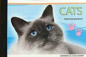 2004 Cats Australian Prestige Stamp Booklet