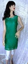 M Damenkleider mit Rundhals-Ausschnitt ohne Muster