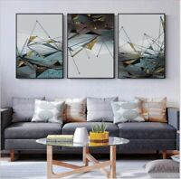 Modern Geometric Wall Art Prints For Home Living Room Bedroom - Minimalist Decor