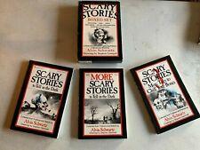 Scary Stories to tell in the dark set | box set Alvin Schwartz