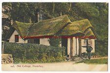 Bristol Old Cottage Frenchay Vintage Postcard 17.7
