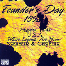 DJ Screw, E.S.G., Lil Keke, Lil Flip and : Founders Day 1992 CD