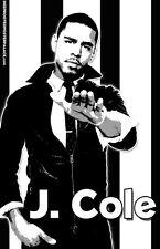 "J. Cole ""Black Light"" Poster"
