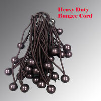"3/16""  BUNGEE CORD BALL BUNGEES CANOPY  TIE DOWNS STRAPS HEAVY DUTY TARP  Tent"
