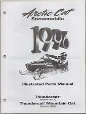 1996 Arctic Cat Snowmobile Thundercat Illustrated Parts Manual