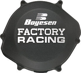 Boyesen Clutch Cover Black Yamaha YZ450 YZ 450 F 10-13