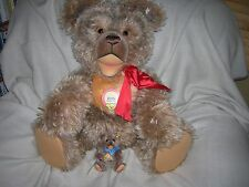 Huge Steiff Zotty Teddy Bear Ltd.Ed.1500 Pcs 1953 Replica 30inch 408700 Retired