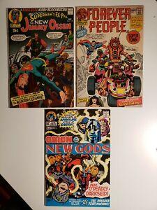 Supermans Pal Jimmy Olsen #134 Forever People #1 New Gods #2 1st app Darkseid
