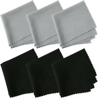 10pcs Microfibre Camera Lens Screens Eyeglass Glass Cleaning Cleaner Wipes  A+