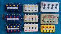 Stell-und Schaltpulte Märklin-Viessmann, auch Relais und Digitaldecoder, einzeln