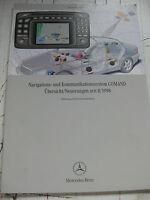 Mercedes Command - Neuerungen -1998 - Navi + Kommunikationsübersicht - W 215-220