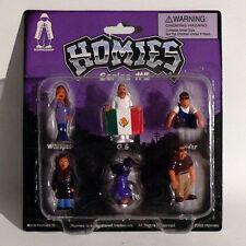 Homies Figuren / Figures - Series #5 Set 2 - 1:32 - 4,5 cm - Rarität - OVP - NEU