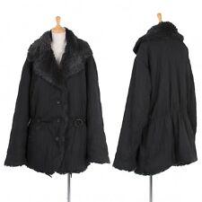 ISSEY MIYAKE Lining Fake Fur Coat Size M(K-42181)