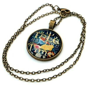 BEAUTY AND THE BEAST NECKLACE PENDANT - Disney - Tale as old as time - lyrics