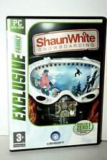 SHAUN WHITE SNOWBOARDING GIOCO USATO OTTIMO PC DVD VERSIONE ITALIANA VBC 35961