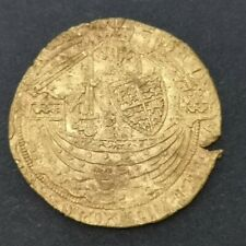 More details for edward iii hammered gold half-noble coin
