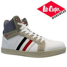 Lee Cooper Baseball Safety BOOTS Mens Steel Toe Cap Hi Top Trainers  (lcshoe055) Black 3a70af140
