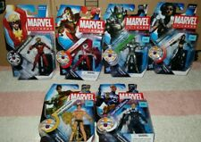 Marvel Universe Series 3 Lot of 6 Figures X-23, Marvel,Ultron,Cap, Namor, Falcon